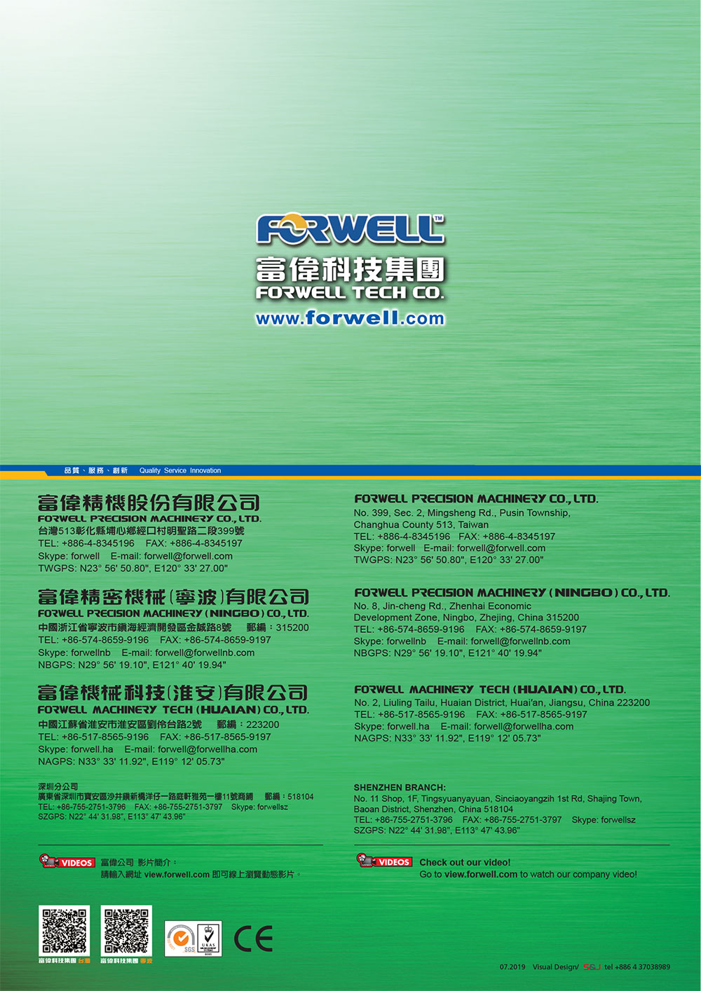 36 forwell catalog