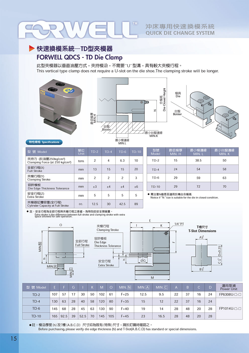 16 forwell catalog